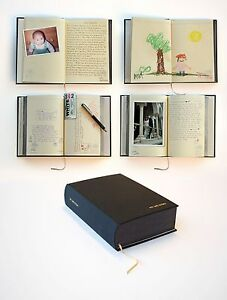 Black My Life Story Lifetime Diary 100 Years Of Memories Journal / Scrapbook