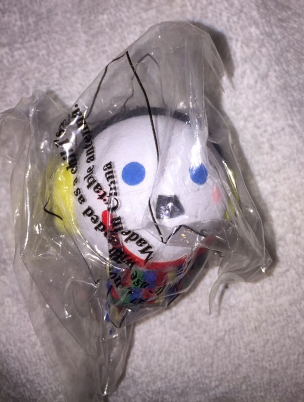 Jack in the Box Antenna Ball With Earmuffs And Scarf Collectible New Sealed