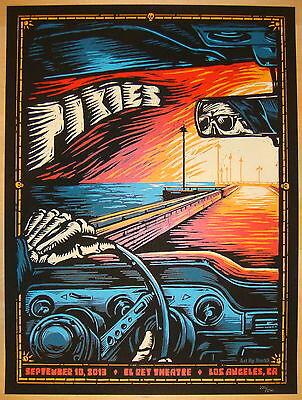 2013 The Pixies - LA II Silkscreen Concert Poster by Mark5