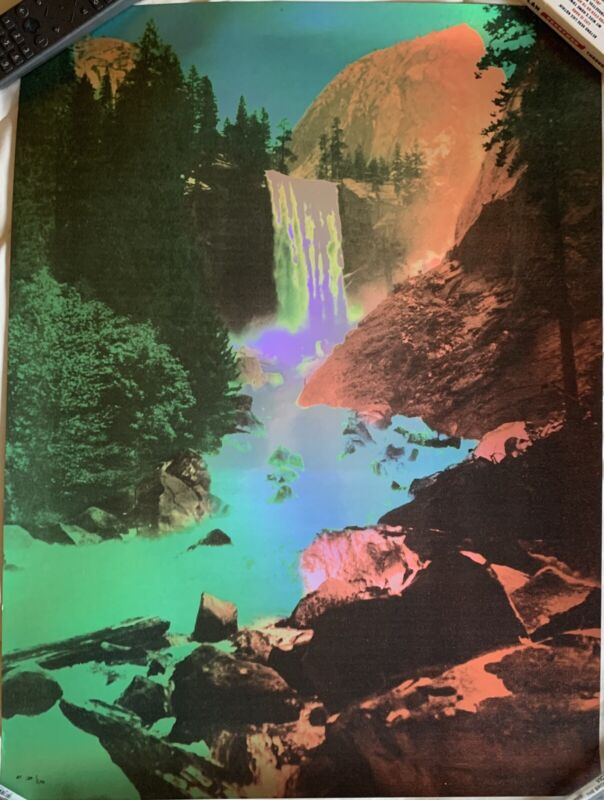 My Morning Jacket Waterfall Foil Poster