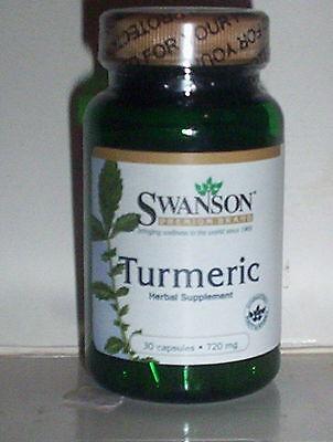 Swanson Turmeric 720 Mg 30 Capsules Antioxidant Liver   Gastrointestinal Health