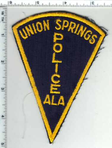 Union Springs Police (Alabama) 1st Issue Shoulder Patch