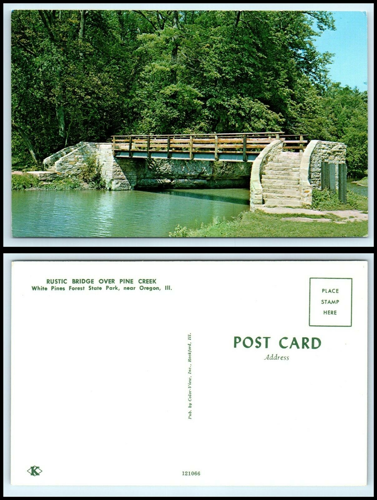 Pine Lake State Park Postcard