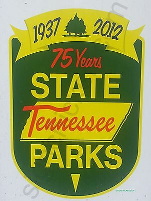 "TENNESSE PARKS SIGN / REPLICA / NEW IN PACKAGE aluminum 9"" x 12"", vintage style"