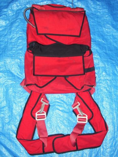Skydiving Stewart Sweethog Dual Container, harness, Classic 1979 Version