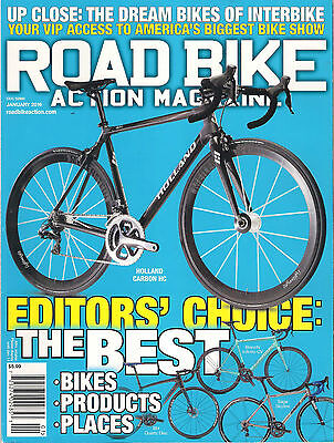 ROAD BIKE ACTION January 2016 The Best Cycles Holland Carbon HC Ridley