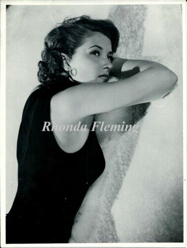 Original photograph, Rhonda Fleming (actress) 1950ca.