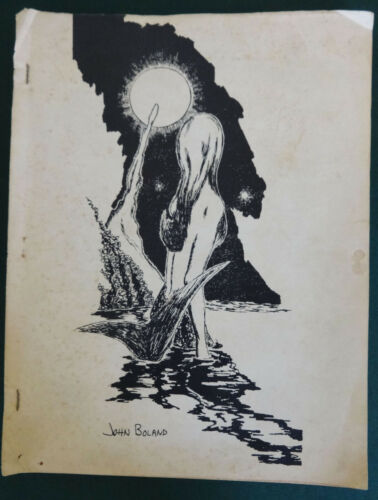 1968 NIEKAS #20 Phillip K Dick Harlan Ellison Short Story Tolkien Fanzine Book