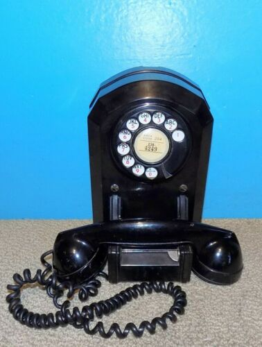 Automatic Electric Model 50 Wall Mount Telephone Free Shipping