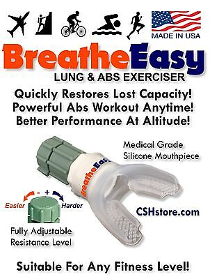 Respiratory Aid   Lung Exerciser  Breatheeasy Is The Best Value  Helps Breathing