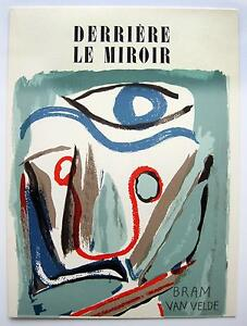 Bram van velde derri re le miroir 2 orig for Maeght derriere le miroir