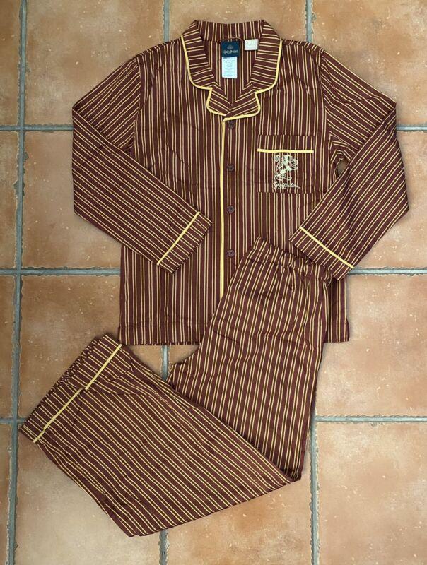 POTTERY BARN Teen HARRY POTTER GRYFFINDOR House Pajama Set LARGE NWOT