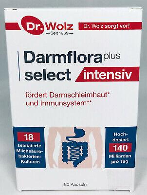 Dr.Wolz Darmflora plus select INTENSIV, Milchsäurebakt. 80 Kapseln+ Gratiszugabe