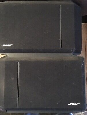 Bose 301 Series IV Audio Bookshelf Speakers Direct Reflecting, EUC