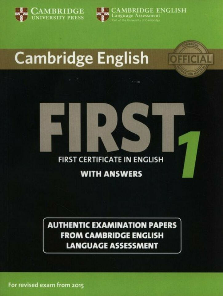Buch für Cambridge First Certificate in English revised exam 2015 in Frankfurt (Main) - Dornbusch