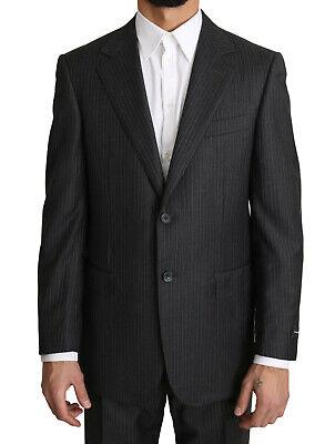 ERMENEGILDO ZEGNA Suit Two Piece 2 Button Wool Gray EU52 / US42 / L RRP $2000