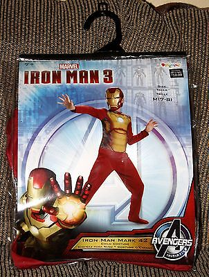 Halloween Marvel Avengers IRON MAN 3 Costume Boys M 7-8 NEW IN BAG ()