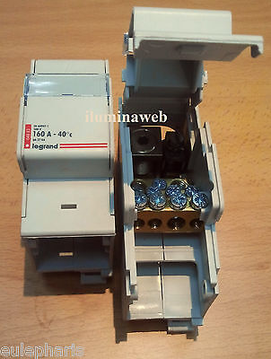 REPARTIDOR 1 POLO 160A LEGRAND 04883 Modular para cuadro electrico, hasta 70mm