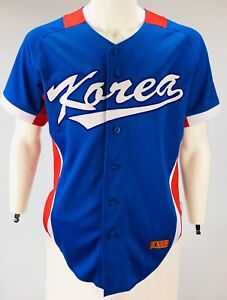 Authentic Korea National baseball jersey KNB collectable