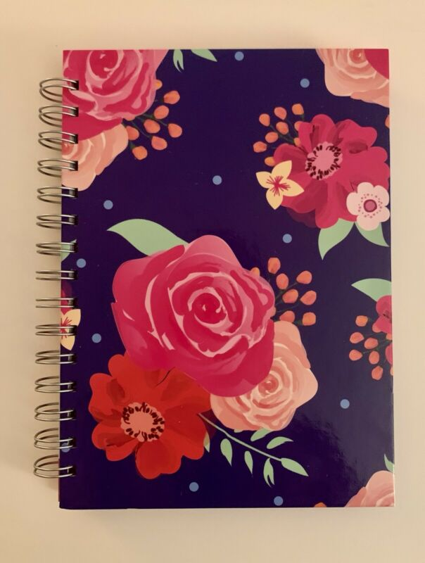 Colorful Notebook New 96 Sheets Journals Floral