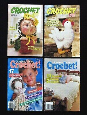 Lot 4 Hooked On Crochet Fun Magazines Hooked On Crochet