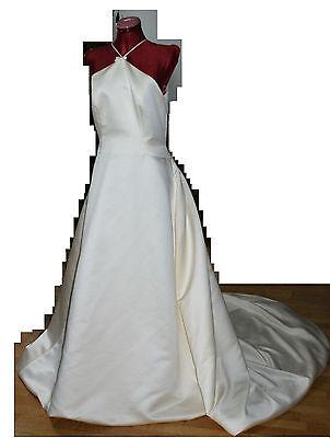 elegantes Brautkleid Hochzeitskleid mit Schärpe PRONOVIAS Modell ADRIATICO Gr.40 ()