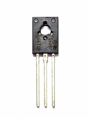 10pc Npn Audio Silicon Transistor Bd139 To-126 Vceo80v Ic1.5a Pd8w St