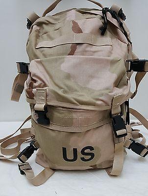 USGI US Army 3 Day Assault Pack Desert Genuine Issue-NEW