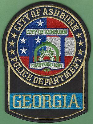 ASHBURN GEORGIA POLICE PATCH