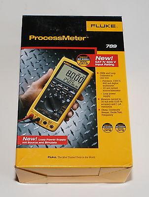 Fluke 789 Processmeter Process Meter Loop Calibrator Brand New