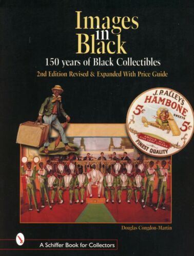 Black Collectibles - Dolls Toys Figures Household Items Clocks.../ Book + Values