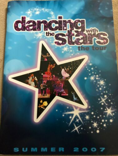 Dancing with The Stars Tour Summer 2007 Souvenir Program RARE  Perfect / Crisp