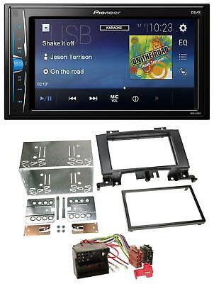 Pioneer 2DIN MP3 USB AUX Autoradio für Mercedes Sprinter ab 06 W906 schwarz