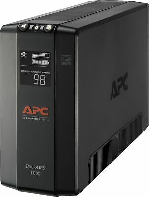 APC BX1000M Back-UPS Pro 1000 VA 600 Watts 8 Outlets Uninter