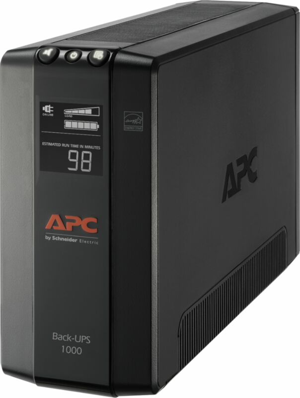 APC - Back-UPS Pro 1000VA Battery Back-Up System - Black