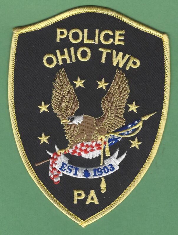 OHIO TOWNSHIP PENNSYLVANIA POLICE SHOULDER PATCH