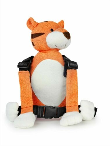 Child Walking Safety Harness Buddy Animal Backpack Reins Toddler TIGER NEW