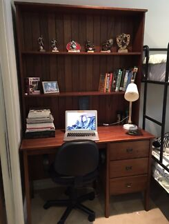 timber office desk. wanted study desk and hutch timber office