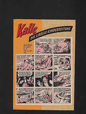 Kalle Libelle Kinderzeitung 1954 im Zustand (0-1/1)-( 1 ) 24 verschiedene
