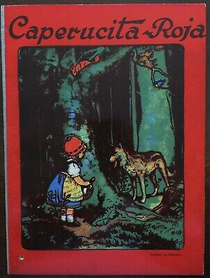 Gebrüder Grimm. - Rotkäppchen. Caperucita-Roja. Löwensohn. 1925