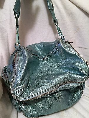Alexander Wang Metallic Jane Zip-detailed Leather Tote