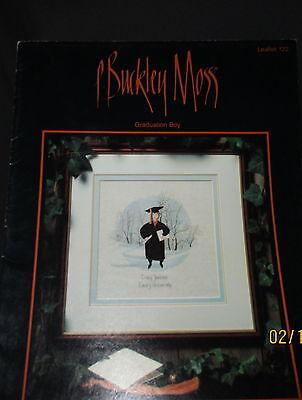 Used, P BUCKLEY MOSS- Graduation Boy # 122 Cross Stitch June Grigg Designs Vintage  for sale  Elwood