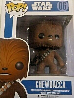 New Funko Pop Star Wars Chewbacca Bobblehead #06