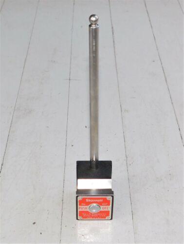 STARRETT MAGNETIC BASE INDICATOR HOLDER No. 657