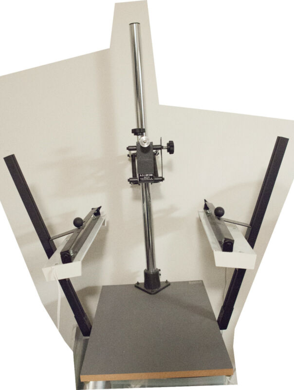 Copy Stand With Adjustable Lights