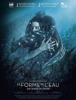P70 Art The Shape Of Water French 2018 Movie   Oscar Nominated Film  36In Poster