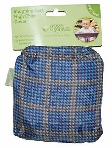 Blue-Shopping-Cart-High-Chair-Cover-Baby-Waterproof-PVC-FREE-by-Green-Sprouts