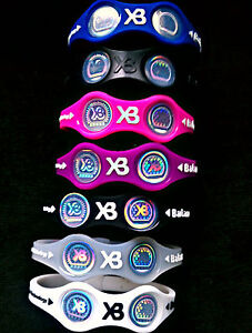Power-Xtreme-Balance-Wristband-Energy-Bracelet-Size-S-M-L-Free-Ship-USA-Seller