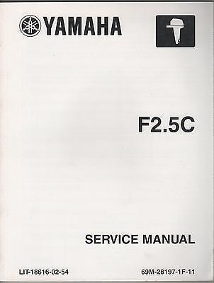 2004 Yamaha Outboard Motor F2.5c Service Manual