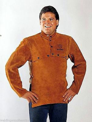 Tillman 3821 Leather Welding Cape Sleeves W20 Bib Size Large